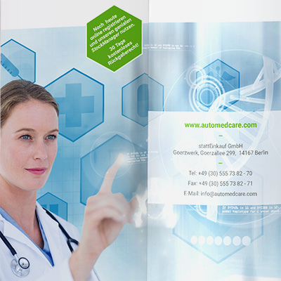 AUTOMEDcare Flyer-Design