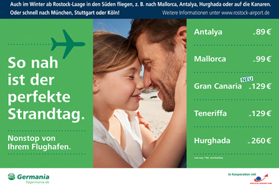 Germania Fluggesellschaft mbH Corporate Design