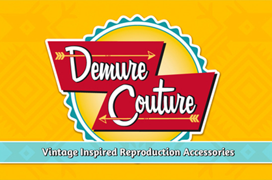 Demure Couture Grafikdesign